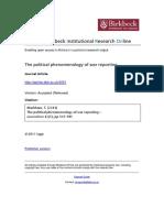 10-Message-phen Markham Phenomenology of War Reporting 2011