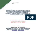 Bases ADP -DU N° 058