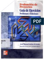 Evaluación de Proyectos - Guía de Ejercicios 2da EdicionSapag