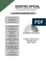 Codigo Organico General de Procesos