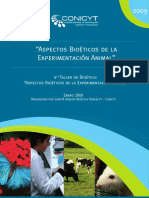 Aspectos Bioeticos de La Experimentacion Animal PDF 208 Mb