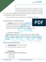 Língua Portuguesa - Acentuação Gráfica