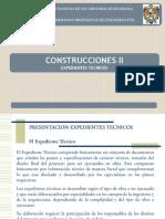 1ra Clase Construcciones II