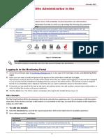 Se Monitoring Portal Site Admin