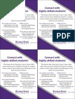 Career Center Information Handout