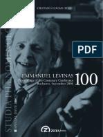 Ciocan 2007 Emmanuel Levinas 100 ToC