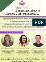Formação Em Psicologia Clínica Na Abordagem Centrada Na Pessoa (2)