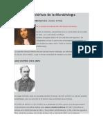 Personajes Históricos de La Microbiología