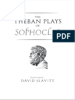 Sophocles - Theban Plays (Yale, 2007)