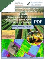 Teledetección y Fotogrametria en La Agricultura de Precisión y Topografía