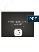 asrs 2018 whats new in retina coding