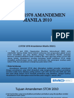 Stcw 1978 Amandemen Manila 2010 Ppt