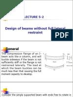 Lecture 5-2-Design of Bending Members