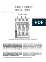 8 PDF Palladio Piranesi Ruina Juan Calduch