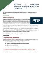 P2. Condiciones Seguridad Salud Lugar Trabajo MARMOLES VALDEVERRO