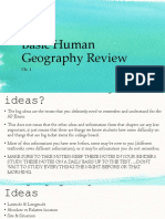 chapter 1 basic human geography review