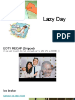 lazy day gbm