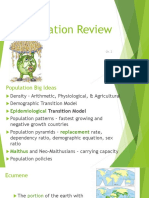 chapter 2 population review