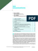 e7110 Fibres Optiques Pour Telecommunications