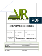 Vr-prv-es-055 Estandar Operacional Higiene Industrial y Salud Ocupacional