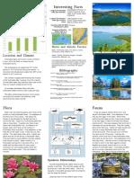 Peyton's Freshwater Lakes Brochure