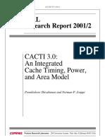 CACTI 3.0