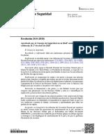 Sahara Occidental: Resolución 2414 (2018) Aprobada por el Consejo de Seguridad ONU,  27 de abril de 2018