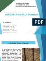 Derecho Natural y Positivo