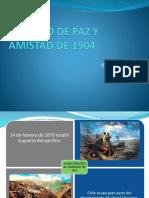 Tratado de Paz y Amistad de 1904 Exponer