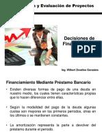 Decisiones de Financiamiento