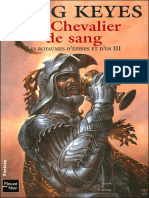 Le Chevalier de Sang - Keyes, Greg