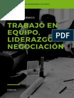 Manual Trabajo en Equipo, Liderazgo y Negociacion