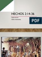 Hechos 2.14-36