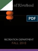 Fall 2010 Brochure
