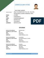 Curriculum Vitae 270318