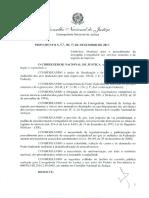 PROVIMENTO 65-2017 - Usucapiao Extrajudicial - Cnj