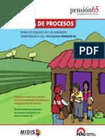 Guía Procesos, programa pensión 65