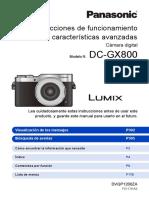 Dc-gx800 Dvqp1200za Spa