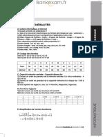 Corrige Passerelle Informatique 2013 Passerelle-1