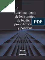Unesco Comites de Bioetica