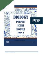 Biology perfect score