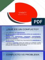 Unidad v El Manejo de Conflictos