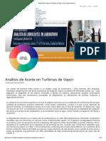 Análisis de Aceite en Turbinas de Vapor _ Noria Latín América