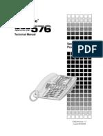 Panasonic DBS 576 Programming