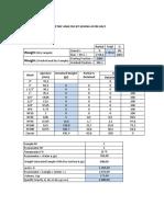 Granulometric Analysis by Sieving