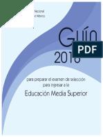 Guia Unam 2018