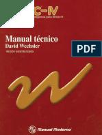 Manual Test (WISC-IV) Tecnico