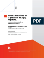 Minería y Desposecion en Jujuy