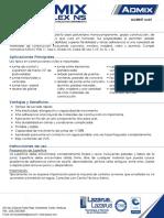 LLCMS57 Admix PolyFlex NS Rev01