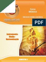 521 Instrumento Violão Harmonização